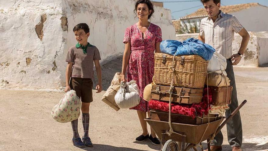 Familia Almodóvar en 'Dolor y gloria'