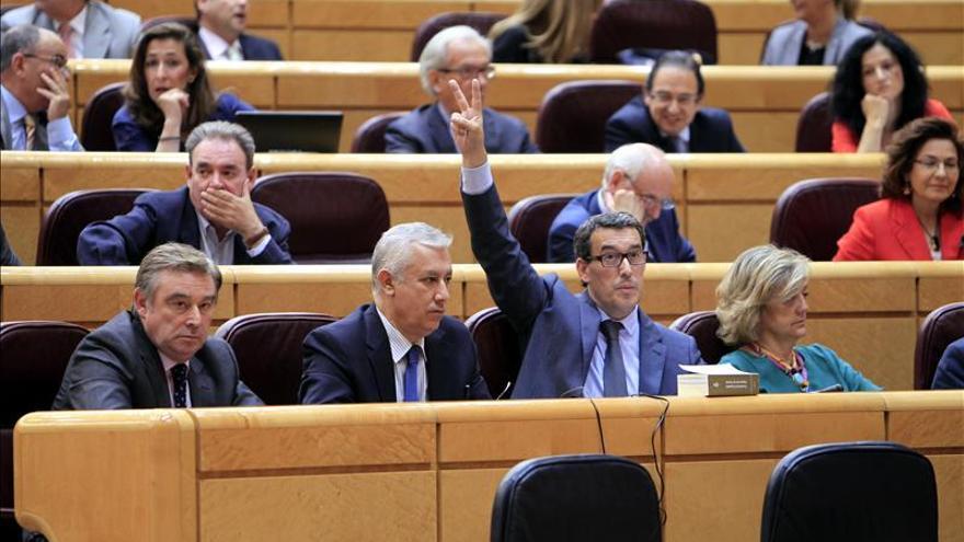 El Senado rechaza vetar la Ley de Transparencia en un debate con rifirrafe