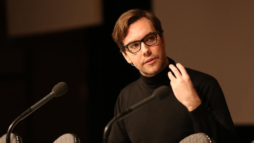 Jacob Appelbaum en su conferencia en el Congreso del Chaos Computer Club