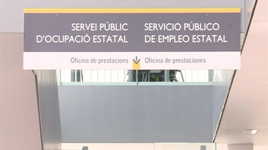 Oficina de prestaciones por desempleo.