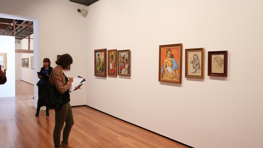 Visita a las exposiciones de San Martín