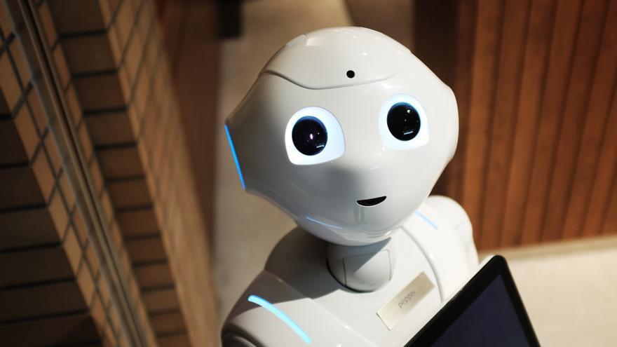 El robot Pepper, que puede trabajar en tareas domésticas, hostelería, recepción de visitantes o entretenimiento de niños.