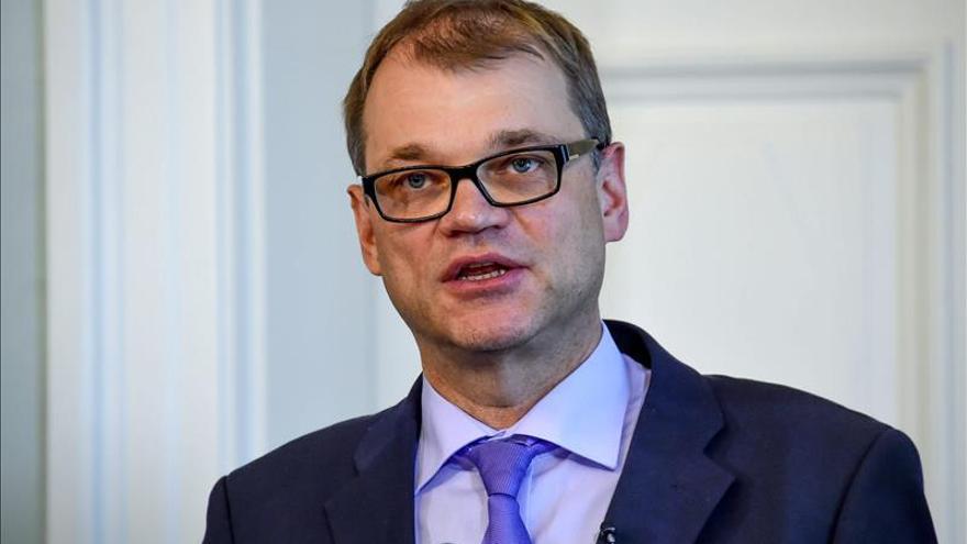 El Parlamento finlandés elige al liberal Juha Sipilä como primer ministro