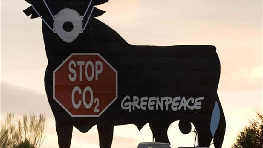 Campaña de lucha contra el cambio climático. / Greenpeace