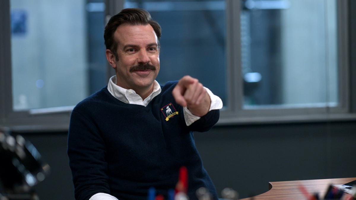 Ted Lasso, en una imagen de la segunda temporada