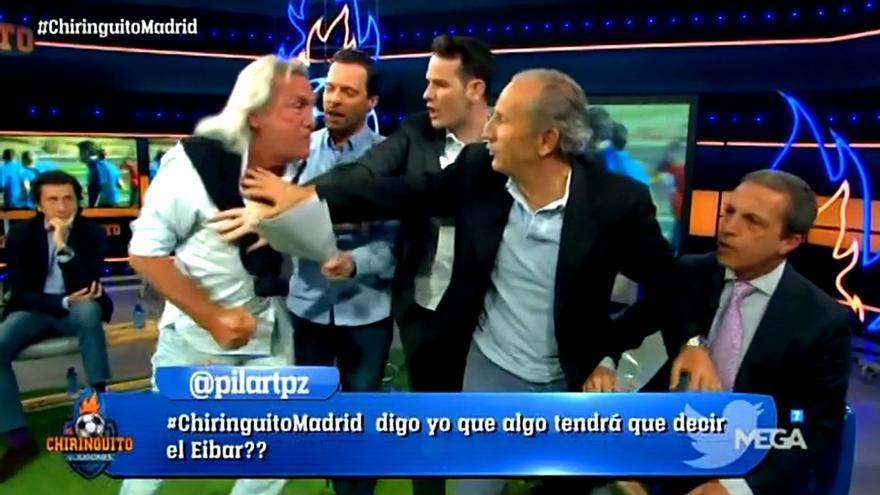 'El loco' Gatti se lanza a por Cristóbal Soria: '¡Te voy a matar!'