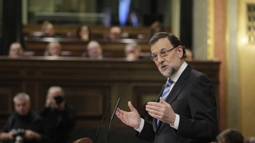 """Rajoy denuncia que Rubalcaba haga un """"discurso apocalíptico"""" y no quiera reconocer la mejoría de España"""