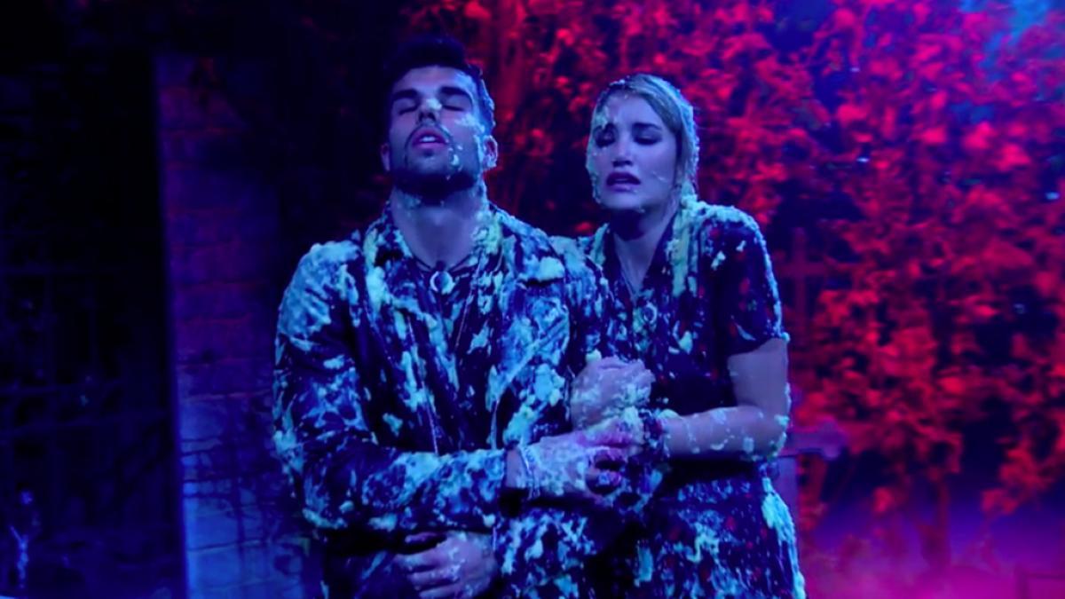 Pol y Alba Carrillo pasan miedo en una prueba de 'GH VIP'