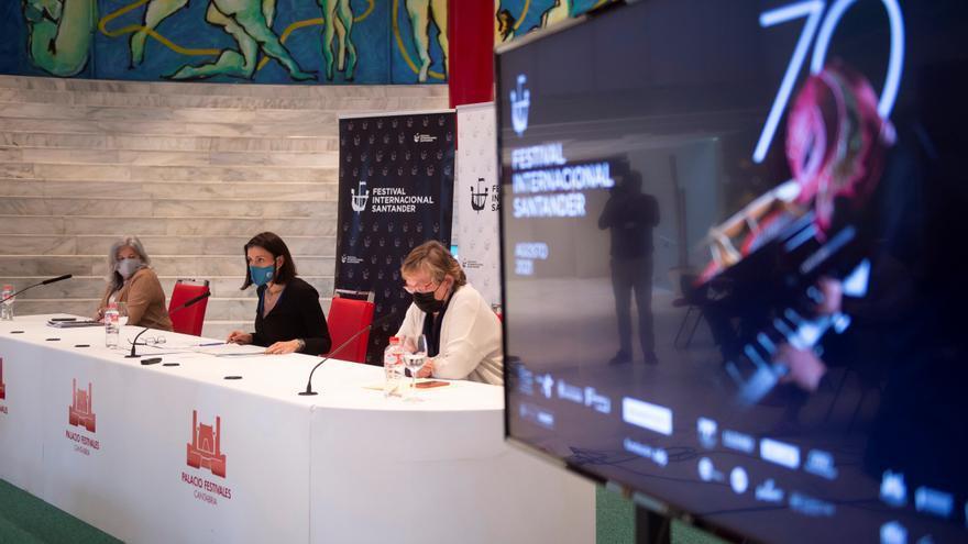 Mutter, Sokolov y Lacarra, en el 70 aniversario del Festival de Santander