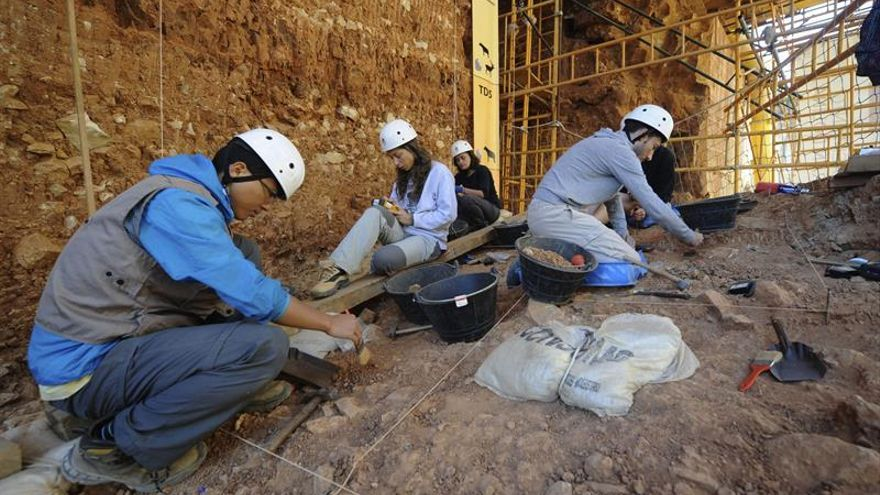 La aparición de restos de neandertales completa en Atapuerca el panorama de la evolución