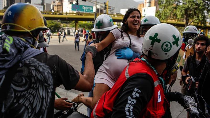 La ONU recuerda que hay más de un millar de detenidos por las manifestaciones en Venezuela