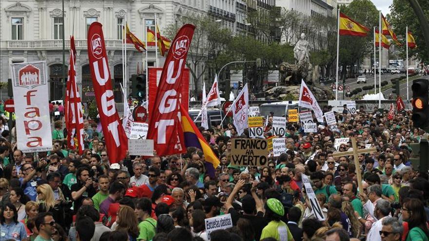 El Sindicato de Estudiantes convoca una gran marcha en junio contra la Lomce