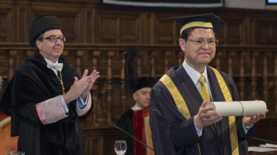 Daisaku Ikeda, el filósofo de la paz, Honoris Causa por la UAH