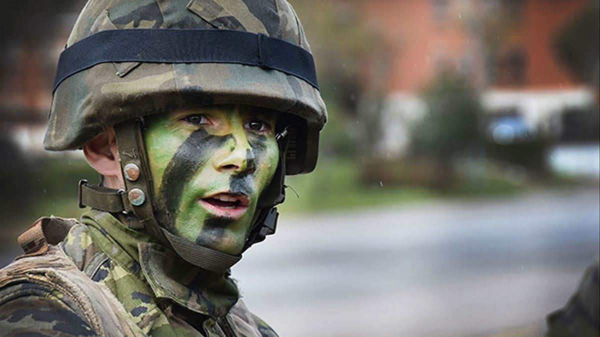 Un militar.