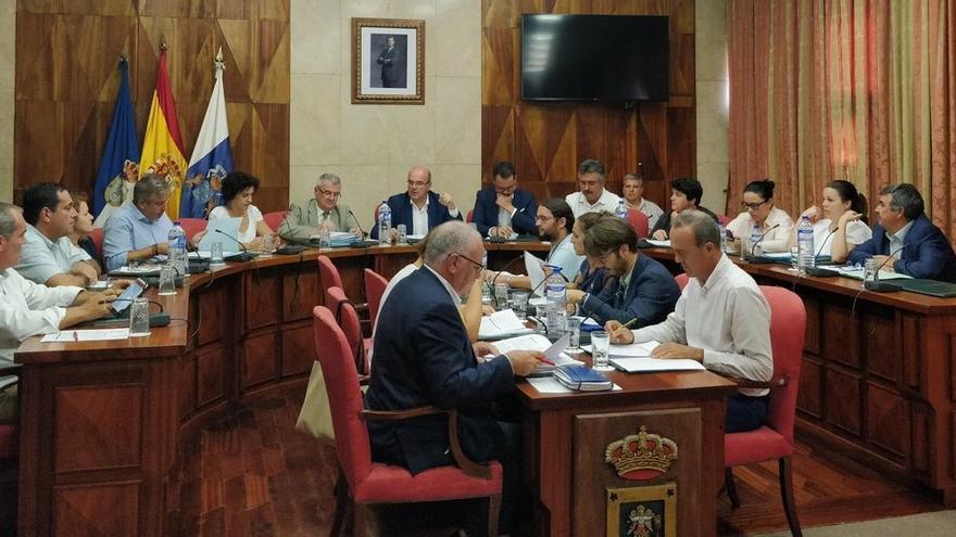 Sesión plenaria del Cabildo celebrada este viernes.