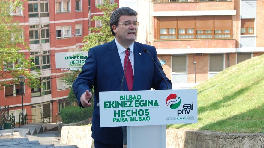 """Aburto (PNV) apuesta por """"trabajar para que la distancia y la accesibilidad no sean un problema"""" en Bilbao"""