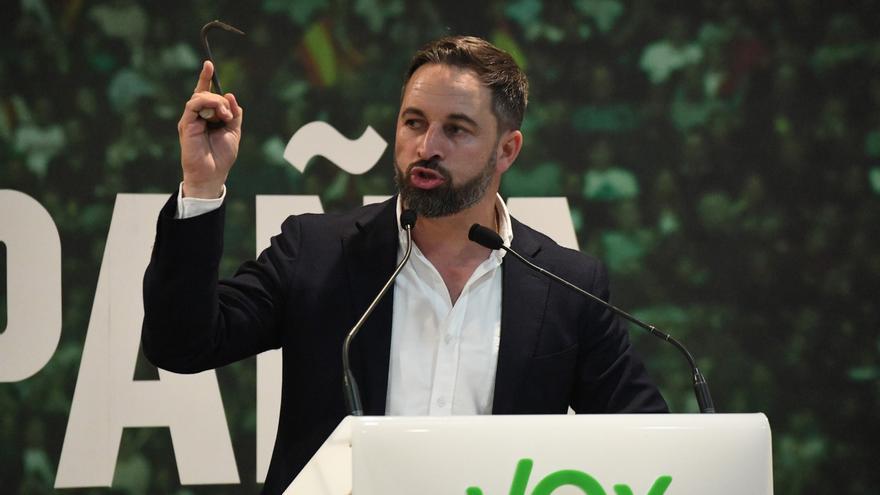 Abascal tendrá dos actos en la campaña en Andalucía, el martes en Dos Hermanas (Sevilla) y el miércoles, en Huelva
