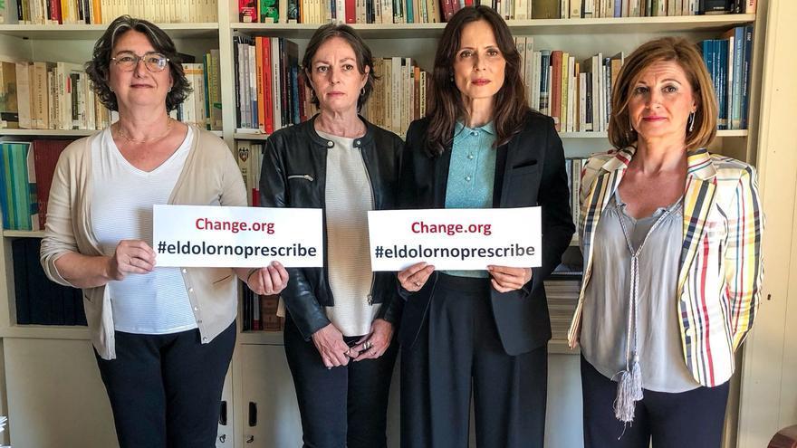 Campaña #eldolornoprescribe de las víctimas del Doctor Criado