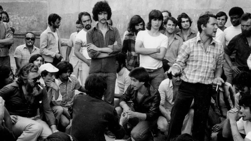 Reclusos reclamaban ser reconocidos como víctimas del franquismo. | COPEL