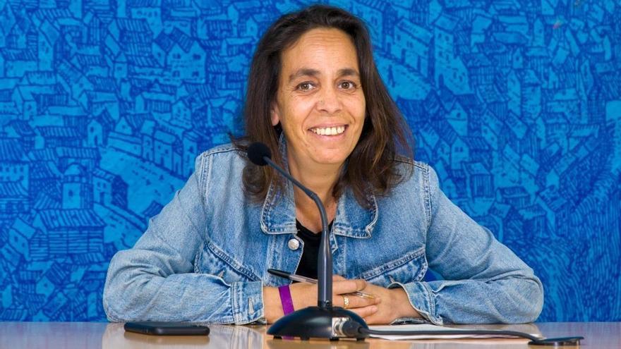 Helena Galán, inscrita en Podemos