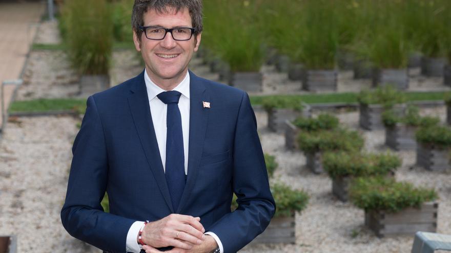 El alcalde de Vitoria y candidato a la reelección, Gorka Urtaran