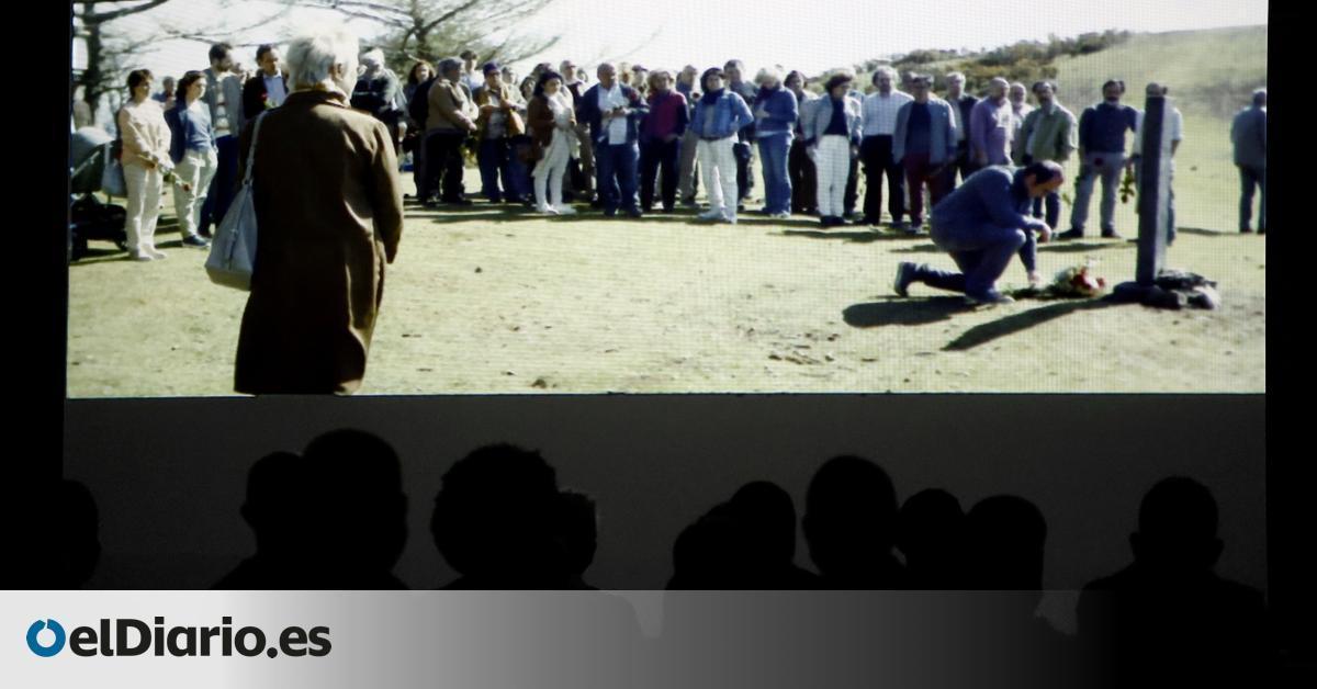 Maixabel  lleva a la cárcel un alegato por la segundas oportunidades con el plantón de los presos de ETA