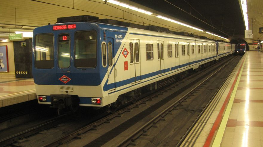 Vagón de Metro de Madrid. Foto de archivo. / Metro de Madrid