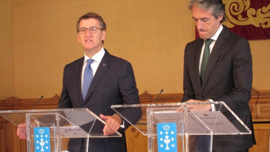 El ministro de Fomento presenta hoy en Santiago la intermodal en medio de la polémica por la suba de peajes de la AP-9