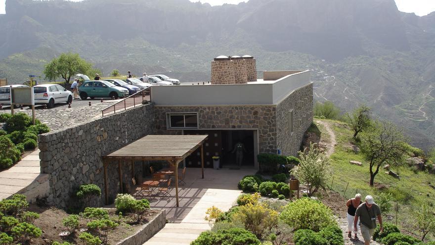 Centro de Interpretación del Roque Bentayga.