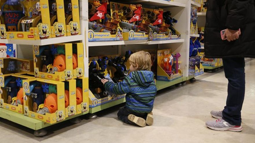 La venta de juguetes alcanzó los 1.160 millones en 2017, un 1,7 % más