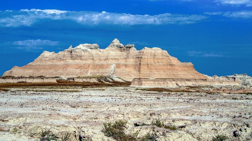 Vista del Parque Nacional de las Badlands.
