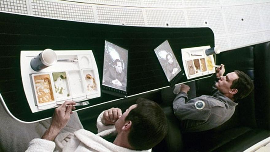 El Newspad, predecesor de las tabletas de Apple (Foto: '2001: Una Odisea en el Espacio')