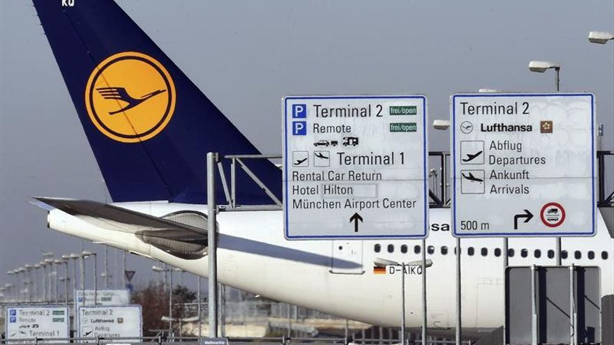 Las huelgas lastrarán el resultado de Lufthansa en 100 millones de euros