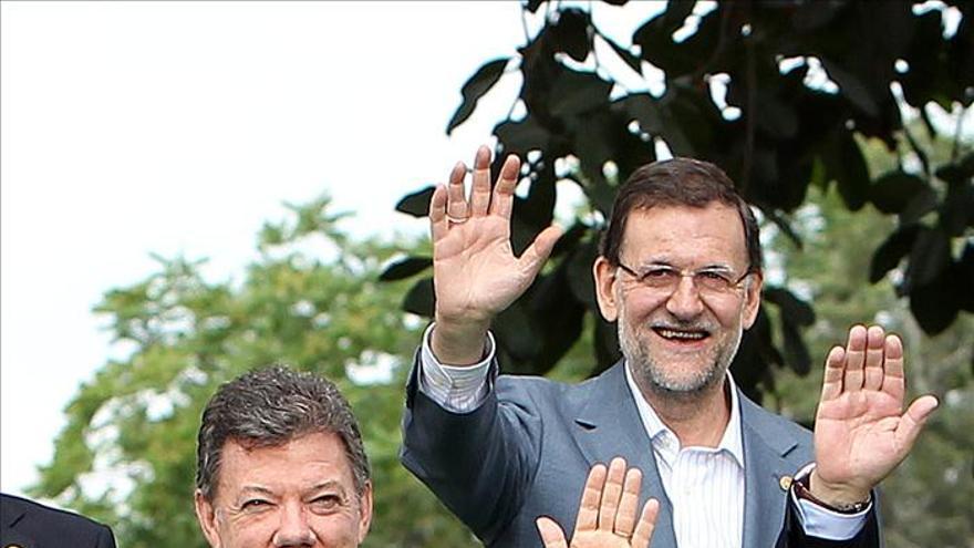 """Colombia en """"permanente contacto"""" con España por los secuestrados, según Santos"""