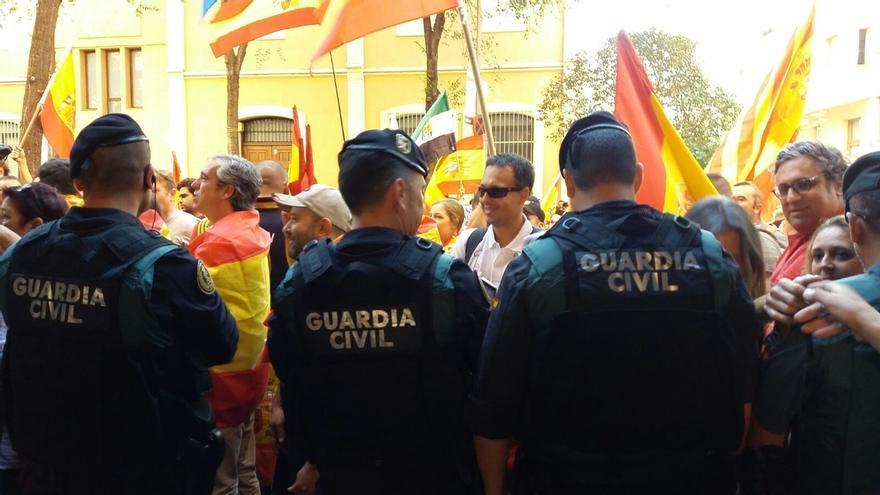 Unos 350 antidisturbios de la Guardia Civil se suman al dispositivo en Cataluña por la sentencia del 'procés'