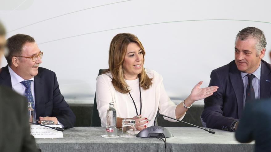 """Susana Díaz realizará un viaje a Bruselas en las """"próximas semanas"""" donde se reunirá con Moscovici y otros comisarios"""