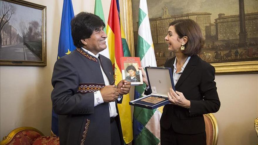 """Evo Morales en Roma: """"Quiero saber si el pueblo me quiere o no me quiere"""""""