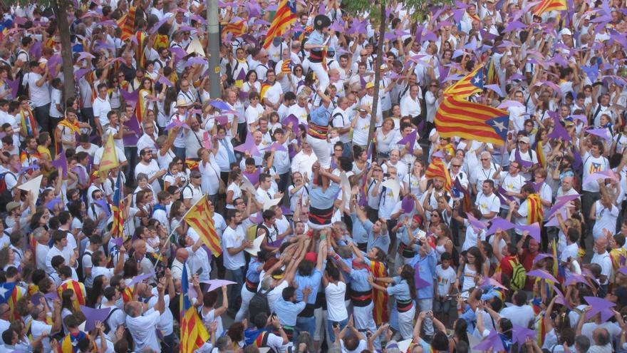 La Diada empezará con un acto de ERC-CUP-Podem, antes del evento oficial y la manifestación
