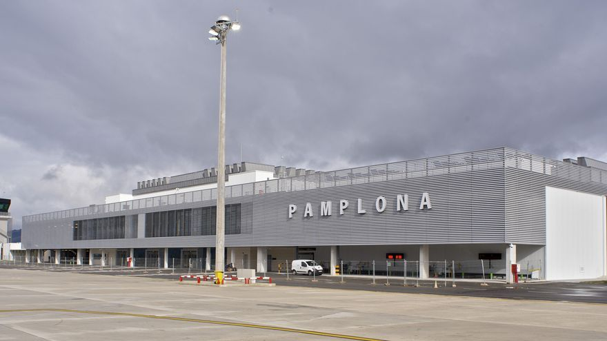 Aeropuerto de Noain, Pamplona. / Foto: AENA