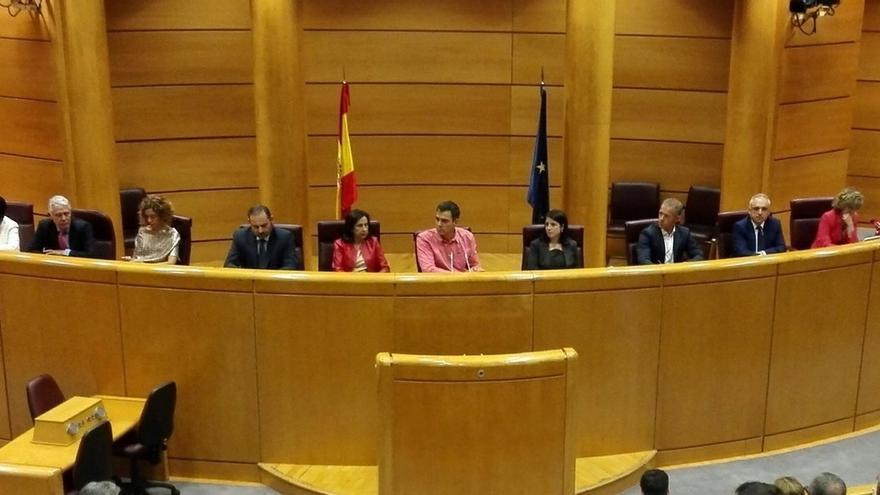 Sánchez avisa a Podemos de que su apoyo al referéndum puede servir de coartada para declarar la independencia