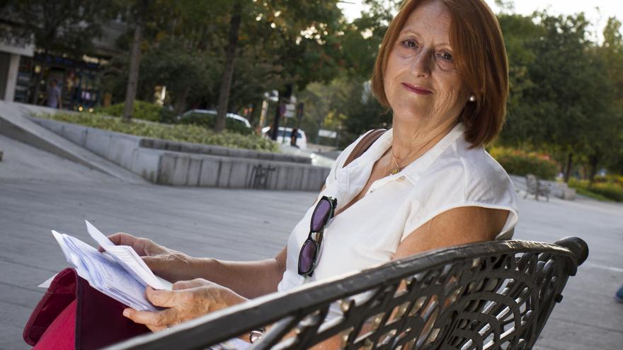 Pilar Ocaña Soto, exadministradora de la Facultad de Ciencias de la Educación de la Universidad de Granada, denunció un caso de prevaricación. / Antonio L. Juárez