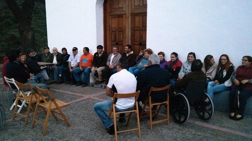 Una foto de una reunión del colectivo