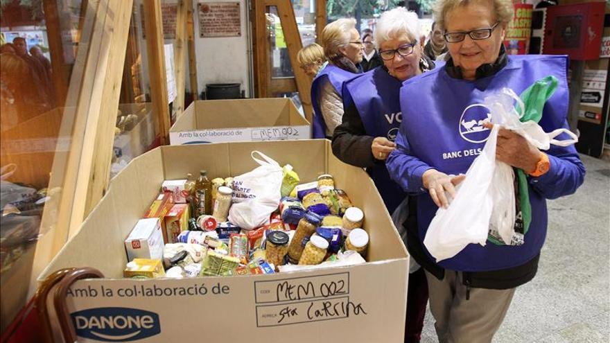 Los Bancos de Alimentos esperan recoger más de 21 millones de kilos de comida