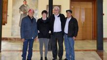 Jueces del agua de Perú visitan la Universidad de Murcia para explicar sus funciones y su historia