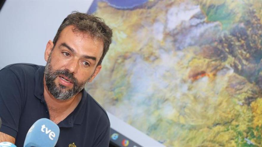 El director técnico de Emergencias del Cabildo de Gran Canaria, Federico Grillo.