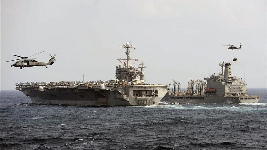 EEUU y Reino Unido envían buques militares para ayudar en desastre Filipinas