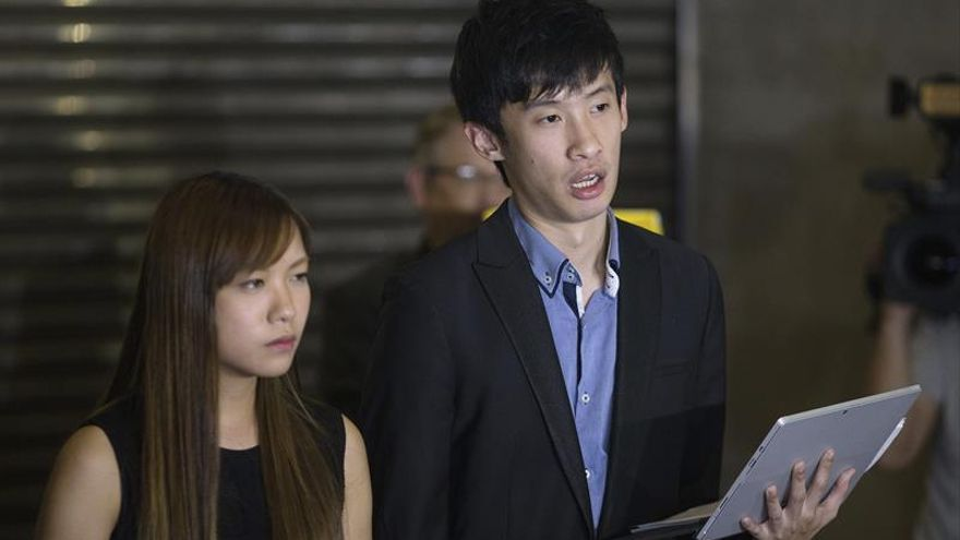 Detenidos 2 activistas independentistas de Hong Kong