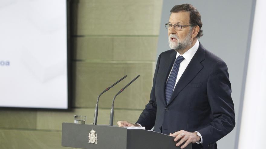 Texto íntegro de la declaración de Mariano Rajoy en el Palacio de la Moncloa