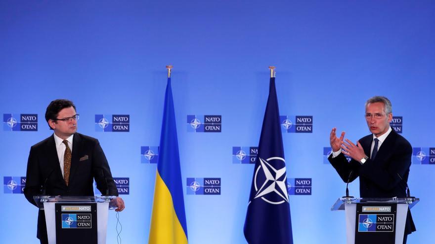 La OTAN exige a Rusia parar la escalada militar alrededor de Ucrania inmediatamente