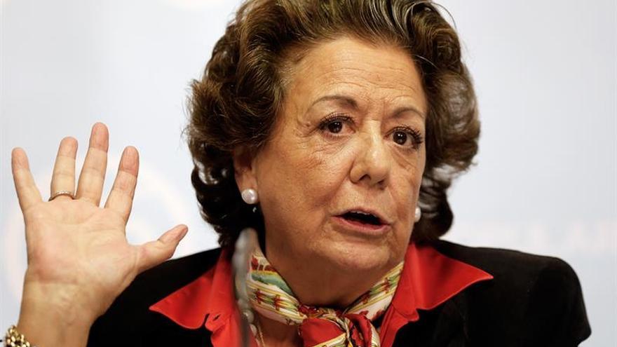 Rita Barberá acepta declarar ante el juez por el caso de supuesto blanqueo.